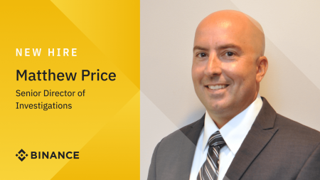 Former IRS-CI Special Agent Matthew Price joins Binance as Senior Director of Investigations