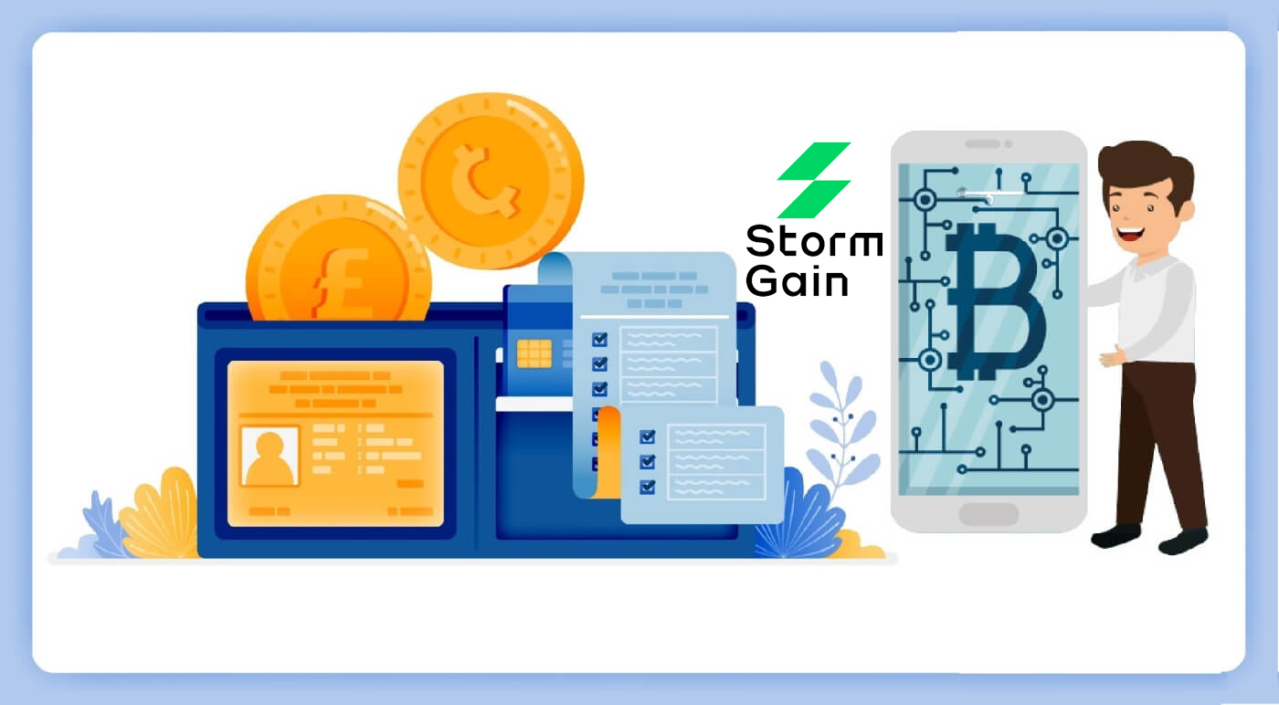 How to Login and Deposit in StormGain