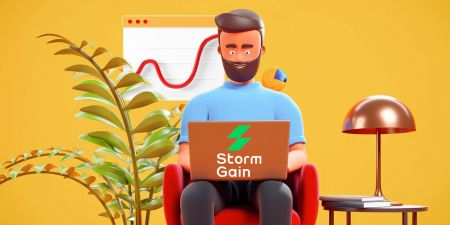 How to Register and Start Trading with a Demo Account in StormGain