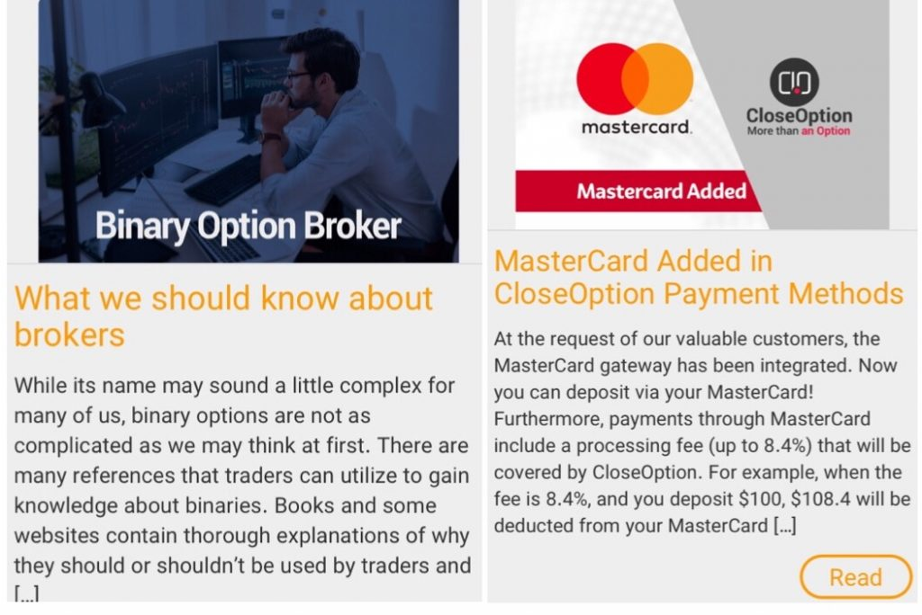 CloseOption Review